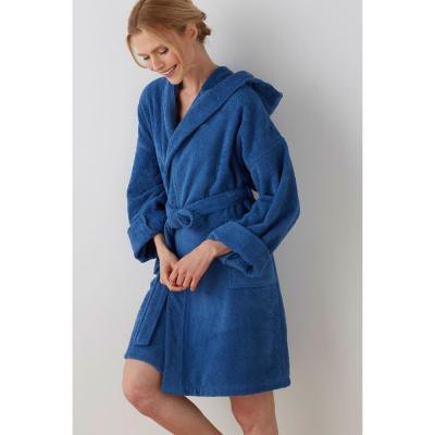 Company Cotton™ Turkish Cotton Hooded Women's Bath Robe