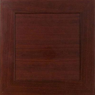 Home Decorators Collection 12.75x12.75x.75 in. Livorno Ready to Assemble Cabinet Door Sample in Cherry
