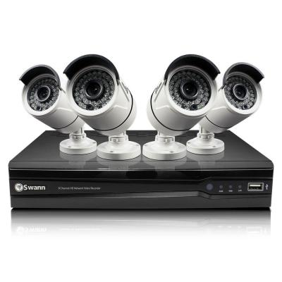 Swann NVR8-7400 4MP 2TB NVR with 4 x NHD-818 4MP Bullet Cameras