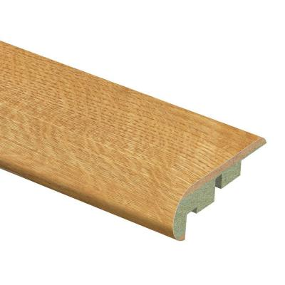 Natural Oak 3/4 in. Thick x 2-1/8 in. Wide x 94 in. Length Laminate Stair Nose Molding Product Photo
