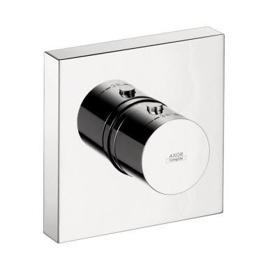 Axor Starck ShowerCollection 1-Handle Thermostatic Valve Trim Kit in Chrome (Valve Not Included) Product Photo