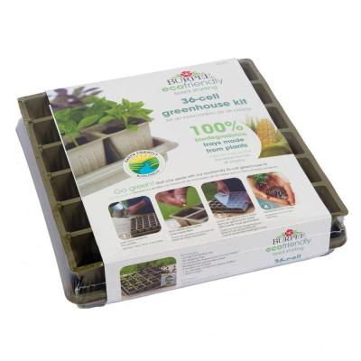 Burpee 36 cell eco friendly greenhouse kit 90436 the for Eco friendly home kits