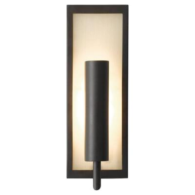 feiss mila oil rubbed bronze wall sconce wb1451orb the home depot. Black Bedroom Furniture Sets. Home Design Ideas