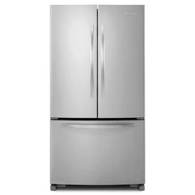 KitchenAid Architect Series II 20.0 cu. ft. French Door Refrigerator in Monochromatic Stainless Steel, Counter Depth