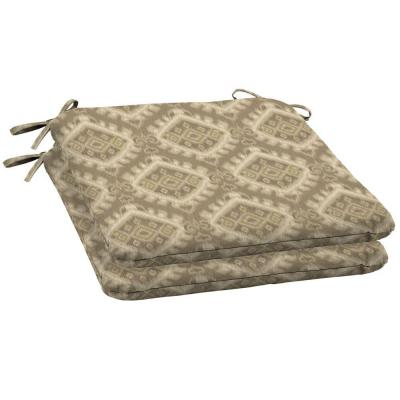 Arden Columbus Wrought Outdoor Iron Seat Cushion 2 Pack-DISCONTINUED