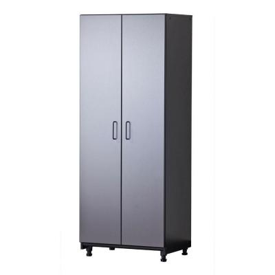 Tuff Stor 27 in. W x 72 in. H x 20 in. D Freestanding Thermo-Fused Melamine 2-Door Cabinet in Grey