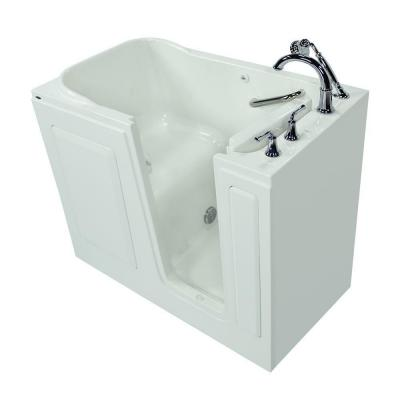 Exclusive Series 48 in. x 28 in. Walk-In Soaking Tub with