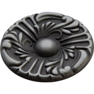Hickory Hardware Cavalier 1-1/2 in. Antique Pewter Cabinet Knob
