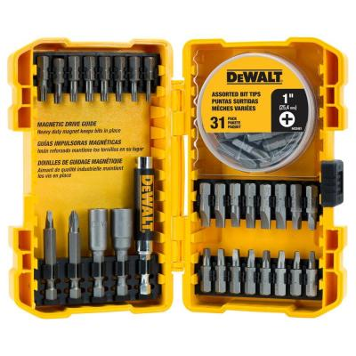 High Speed Steel Screwdriving Bit Set (60-Piece)