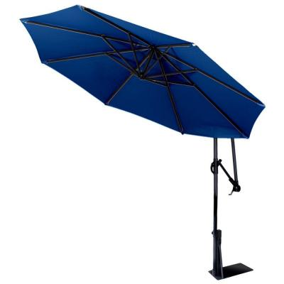 9 ft. Spa Umbrella in Blue Product Photo