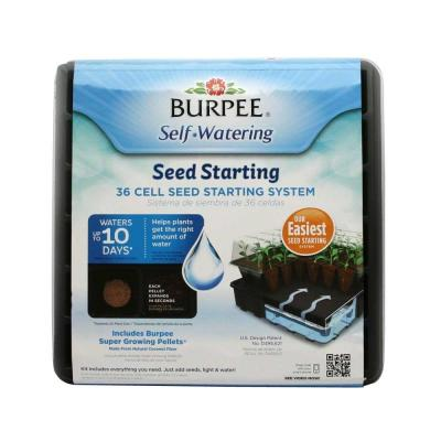 Burpee 36-Cell Self-Watering Greenhouse Kit