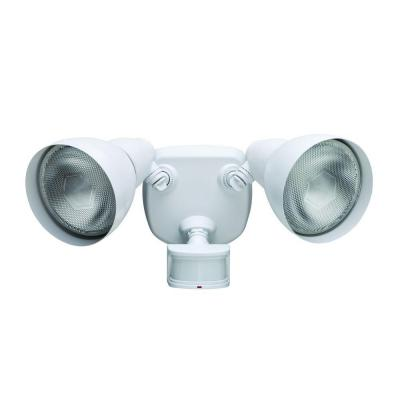 Defiant 270 Degree White Motion Outdoor Security Light DF