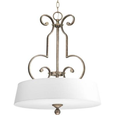 Stroll Collection 3-Light Pebbles Foyer Pendant