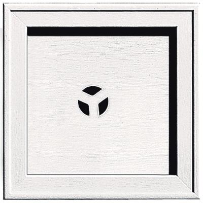 7.75 in. x 7.75 in. #117 Bright White Recessed Square Mounting
