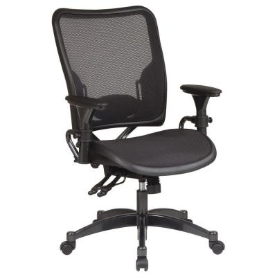 Professional AirGrid Back Ergonomic Office Chair in Black