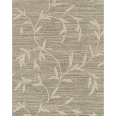 57.75 sq. ft. Weathered Finishes Vine Scroll Wallpaper