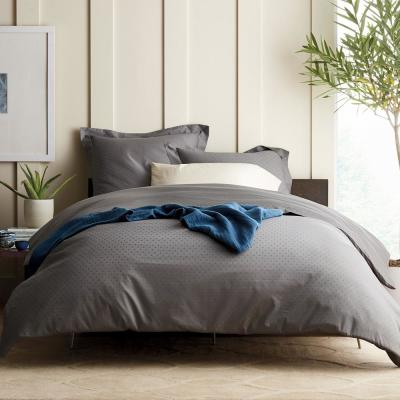 Legends Luxury Dot 500-Thread Count Cotton Sateen Duvet Cover