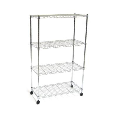 Seville Classics 4-Shelf 30 in. x 14 in. Home Wire Shelving System
