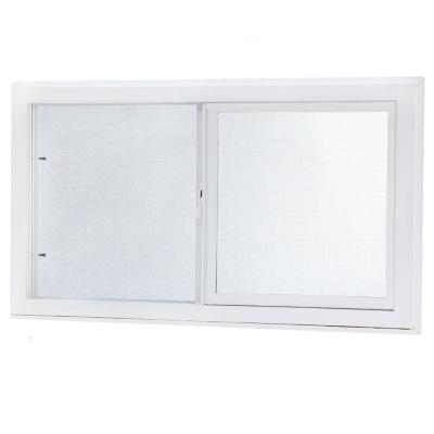 Basement Single Sliding Vinyl Window – Insulated Glass