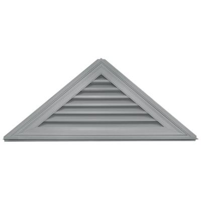 Builders Edge 10/12 Triangle Gable Vent #030 Paintable