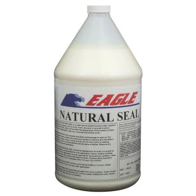 Eagle 1 gal. Natural Seal Penetrating Clear Water-Based Concrete and Masonry Water Repellant Sealer and Salt Protectant