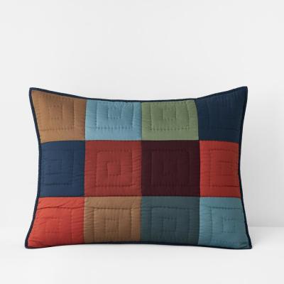 Dayton Handcrafted Multicolored Cotton Sham
