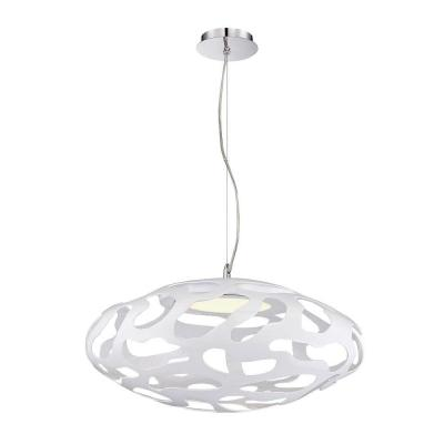 null Astro Collection 1-Light White Large Pendant-DISCONTINUED