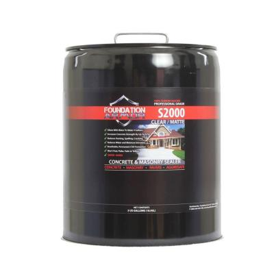 S2000 5-gal. Concentrated Water-Based Sodium Silicate Concrete Sealer, Densifier