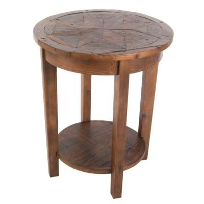 Alaterre Furniture Revive Natural Oak End Table