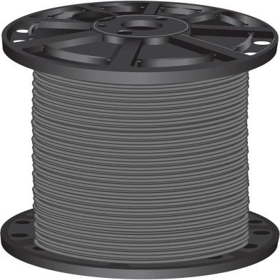 2,500 ft. 8-Gauge Gray Stranded CU SIMpull THHN Wire