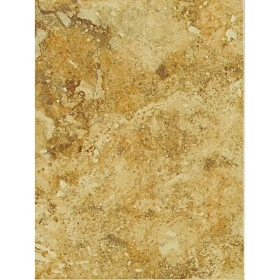 Heathland Amber 9 in. x 12 in. Ceramic Wall Tile (11.25