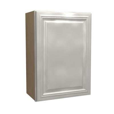 9x30x12 in. Coventry Assembled Wall Cabinet with 1 Door Left Hand