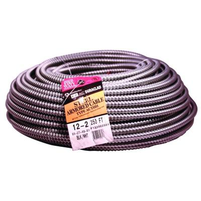 Southwire 12 2 X 250 Ft Bx Ac 90 Cable 61023101 The