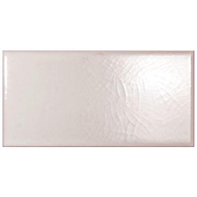 Merola Tile Craquelle Blanco 3 in. x 6 in. Ceramic Wall Tile (11 sq.ft. / case)
