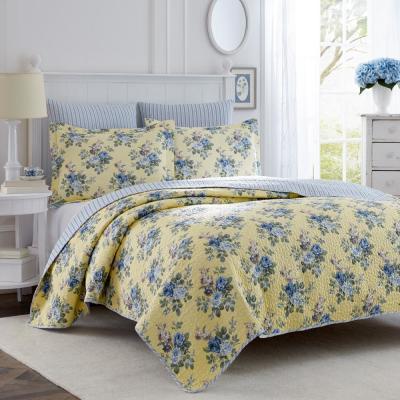 Linley Cotton Quilt Set
