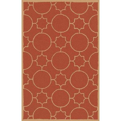 Artistic Weavers Oscar Rust 5 ft. x 7 ft. 9 in. Area Rug