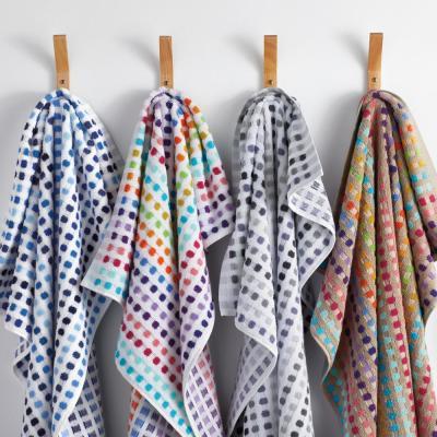 Spectrum Geometric Cotton Single Towel