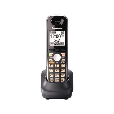 Panasonic DECT 6.0 Cordless Phone Accessory Handset for KX-TG65xx Series - Black