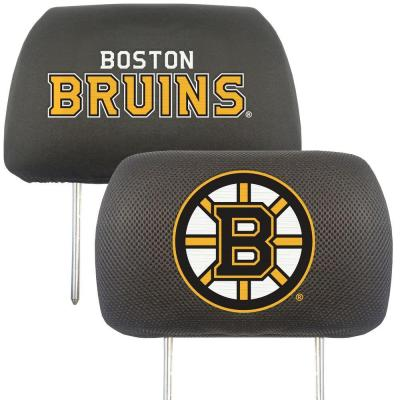 NHL - Boston Bruins Head Rest Cover (2-Pack)