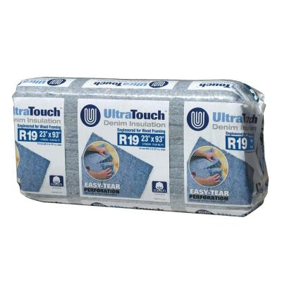 23 in. x 93 in. R19 Denim Insulation (8-Bags) Product Photo