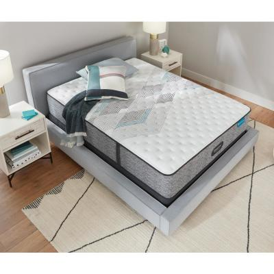 Harmony Lux HLC-1000 13.5 in. Extra Firm Hybrid Tight Top Mattress with 9 in. Box Spring Set
