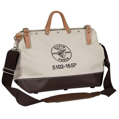 16 in. Deluxe Canvas Tool Bag