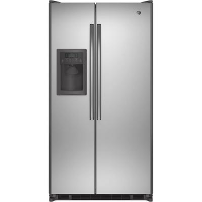 24.7 cu. ft. Side by Side Refrigerator in Stainless Steel