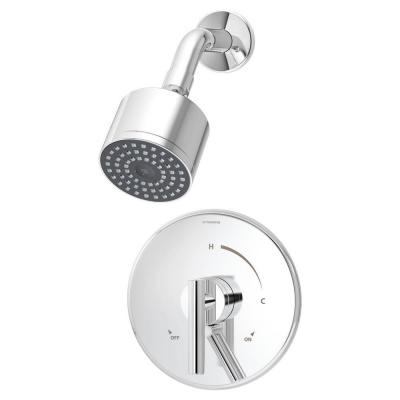 Dia 1-Handle Shower Faucet in Chrome