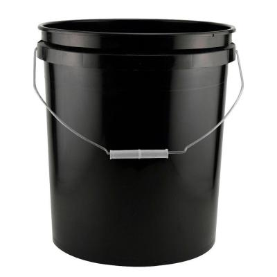 Leaktite 5-Gal. Black Project Bucket (Pack of 3)