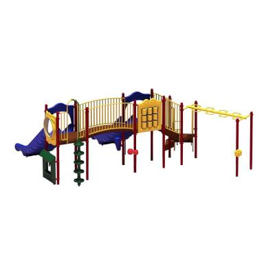 Ultra Play UPlay Today Mount Macon (Playful) Commercial Playset with Ground Spike