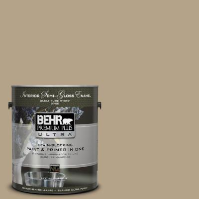 BEHR Premium Plus Ultra Home Decorators Collection 1-gal. #HDC-NT-12 Curly Willow Semi-Gloss Enamel Interior Paint