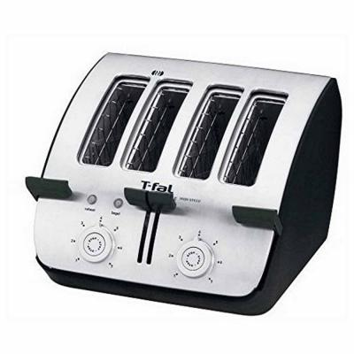 T-Fal 4-Slice Deluxe Toaster, Black