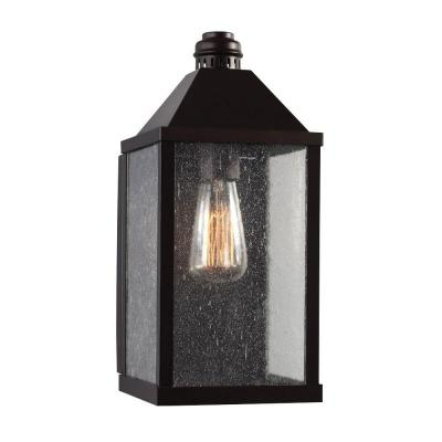 Feiss Lumiere 1-Light Oil Rubbed Bronze Outdoor Wall Sconce