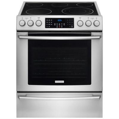 IQ Touch 4.6 cu. ft. Electric Range with Front Controls, Self-Cleaning